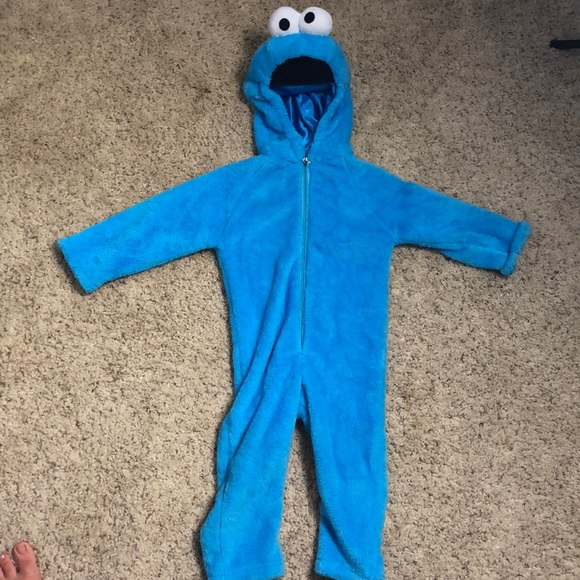M_5b7b14c64773680bf61dc07c & One Pieces | Toddler Cookie Monster Costume So Cute 23t | Poshmark